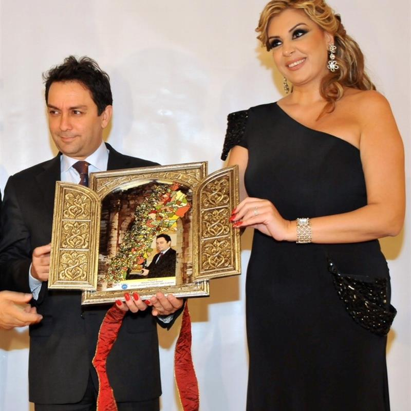 Honoring Minister of Interior Ziad Baroud