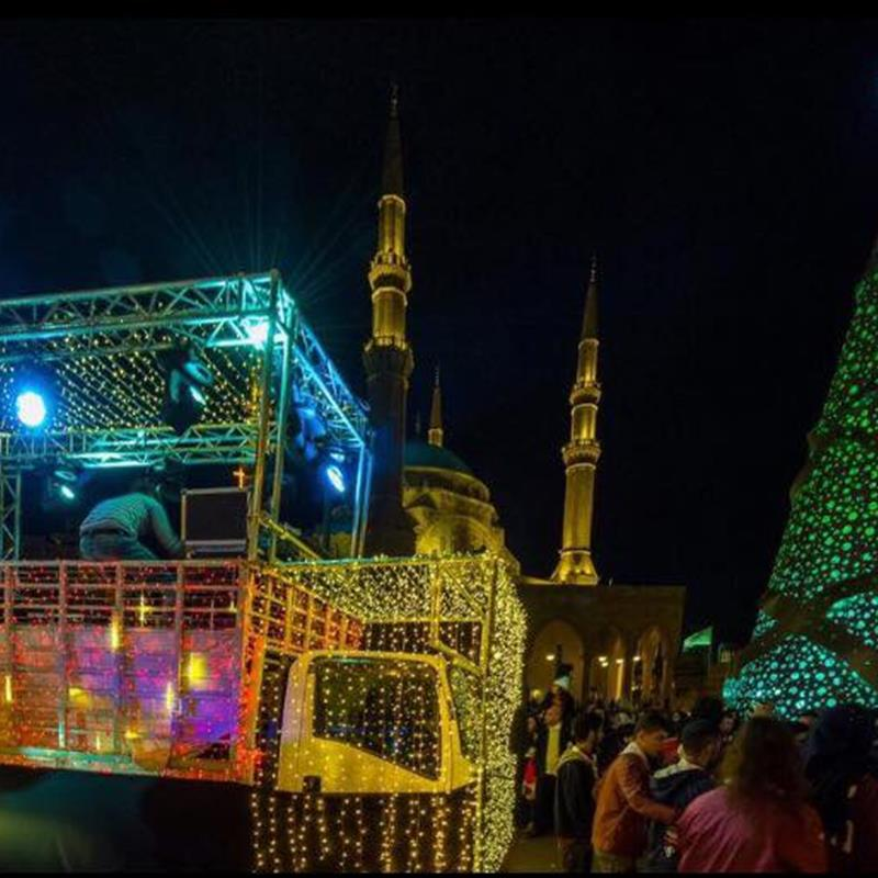 Beirut Christmas Festivities 2017