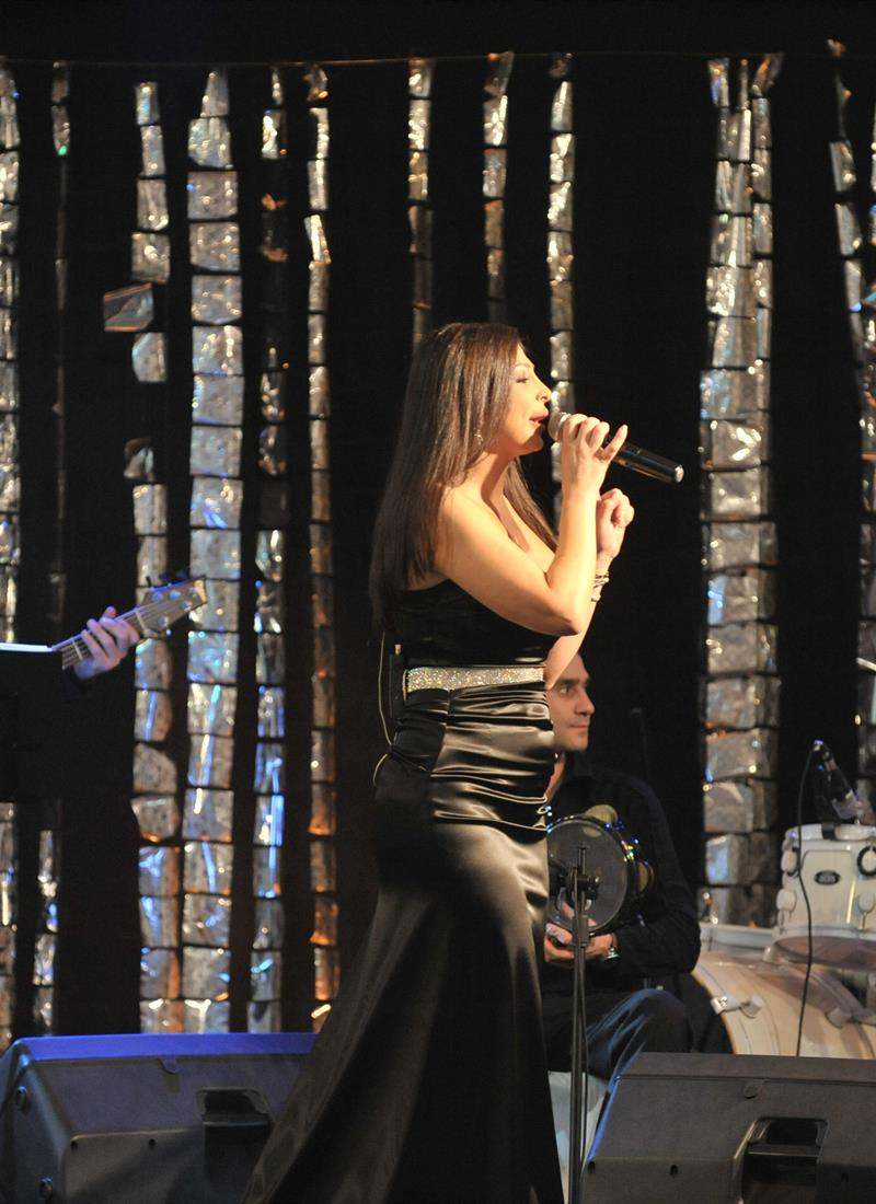 Erbil first International Music Show Featuring Ellisa